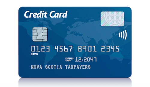Nova Scotia Taxpayers Credit Card