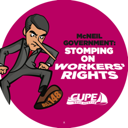 McNeil Government: Stomping on workers' rights