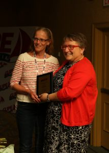 Jane Perry, winner of this year's CUPE NS Steward of the Year Award