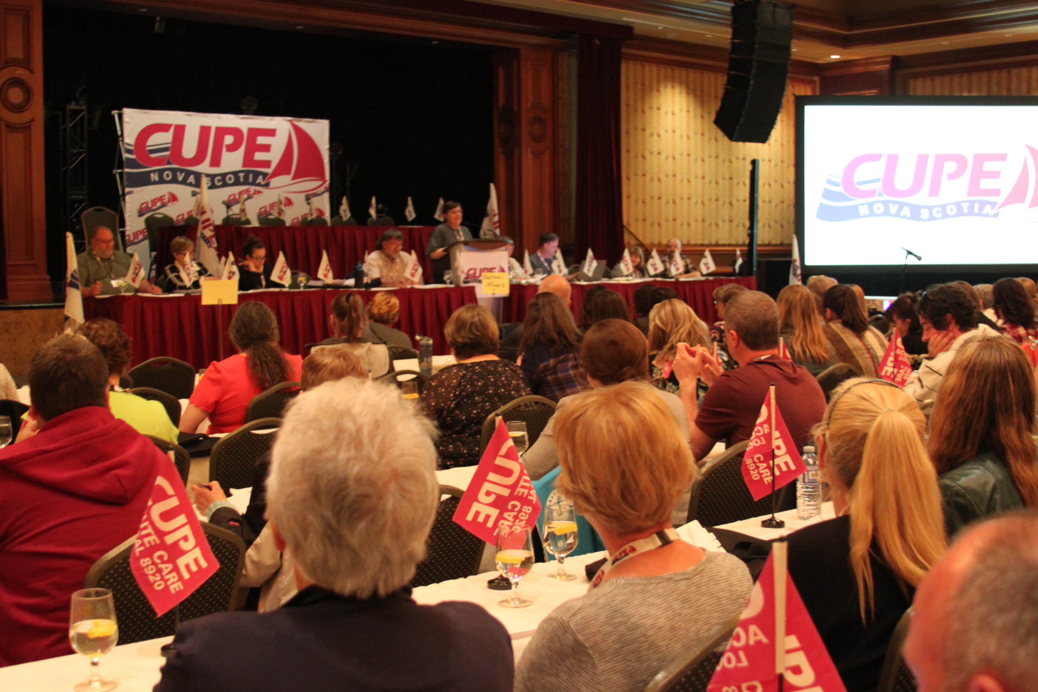 55thannual convention of CUPE Nova Scotia