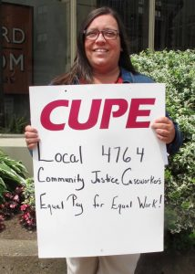 Denise Russell CUPE 4764
