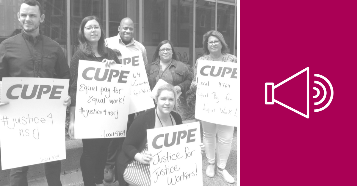 Listen to radio ads - CUPE 4764