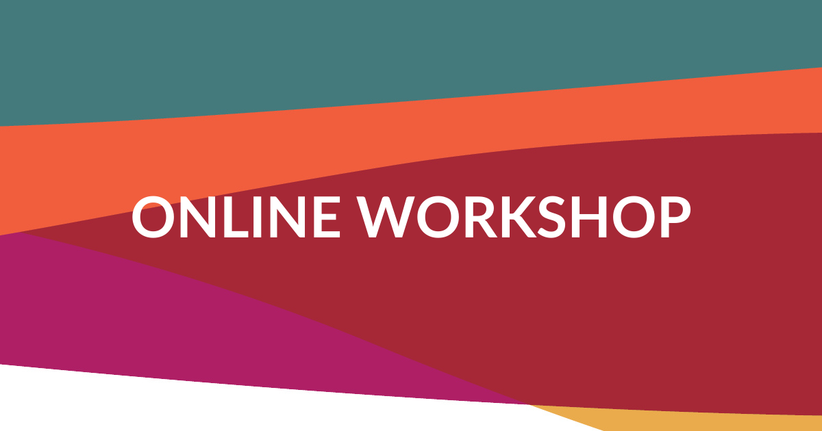 Web banner. Text: Online workshop
